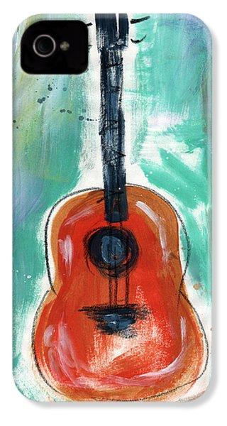 Storyteller's Guitar IPhone 4s Case