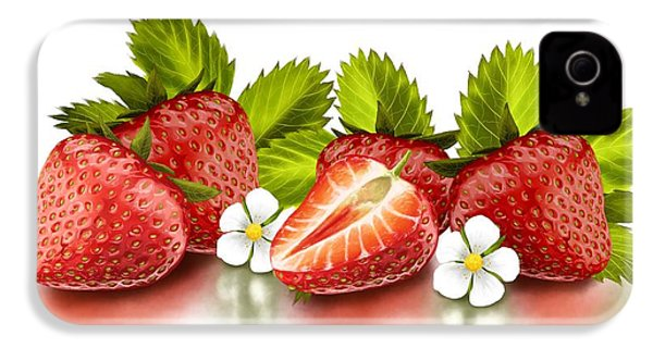 Strawberries IPhone 4s Case