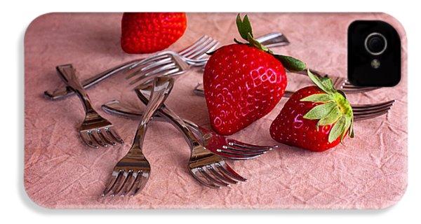 Strawberry Delight IPhone 4s Case by Tom Mc Nemar