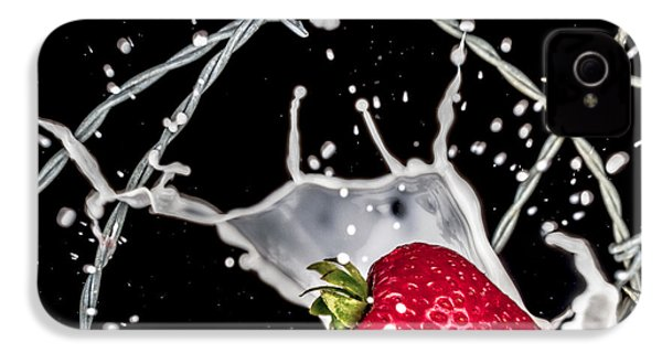 Strawberry Extreme Sports IPhone 4s Case by TC Morgan