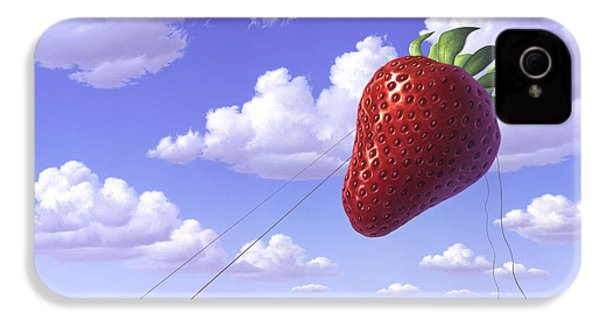 Strawberry Field IPhone 4s Case by Jerry LoFaro