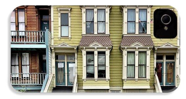 Streets Of San Francisco IPhone 4s Case by Julie Gebhardt