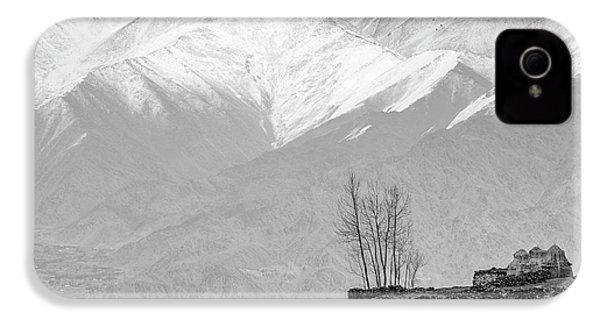 Stupa And Trees IPhone 4s Case by Hitendra SINKAR