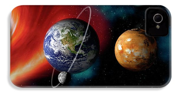 Sun And Planets IPhone 4s Case by Panoramic Images