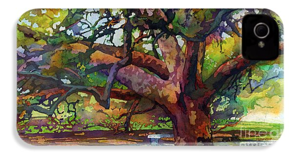 Sunlit Century Tree IPhone 4s Case by Hailey E Herrera