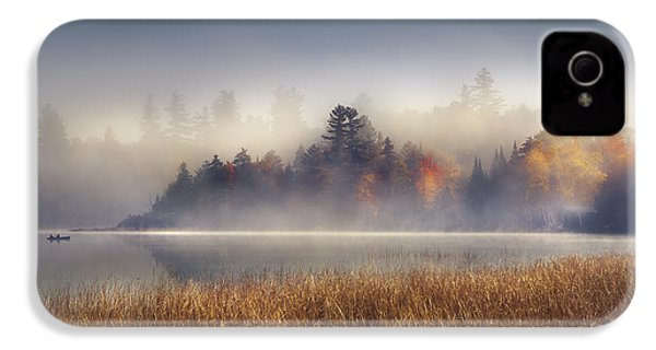 Sunrise In Lake Placid  IPhone 4s Case by Magda  Bognar
