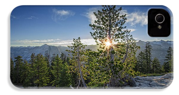 Sunrise On Sentinel Dome IPhone 4s Case by Rick Berk