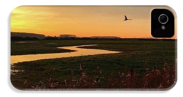 Sunset At Holkham Today  #landscape IPhone 4s Case by John Edwards
