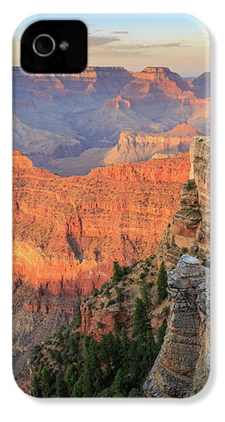 Sunset At Mather Point IPhone 4s Case by David Chandler