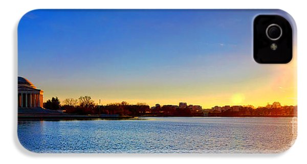 Sunset Over The Jefferson Memorial  IPhone 4s Case