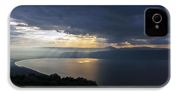 Sunset Over The Sea Of Galilee IPhone 4s Case by Dubi Roman