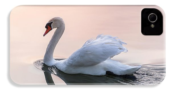 Sunset Swan IPhone 4s Case by Elena Elisseeva