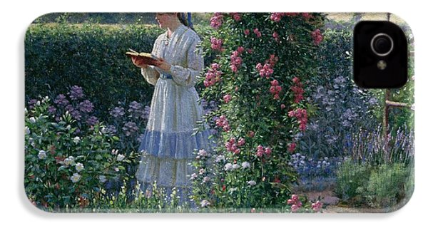 Sweet Solitude IPhone 4s Case by Edmund Blair Leighton