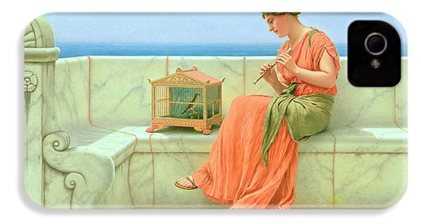 Sweet Sounds IPhone 4s Case by John William Godward