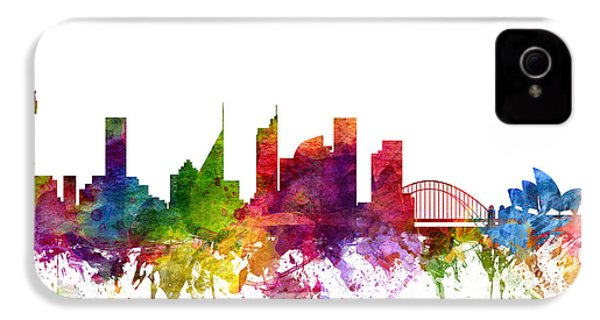 Sydney Australia Cityscape 06 IPhone 4s Case by Aged Pixel