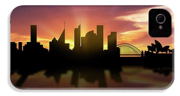 Sydney Skyline Sunset Ausy22 IPhone 4s Case