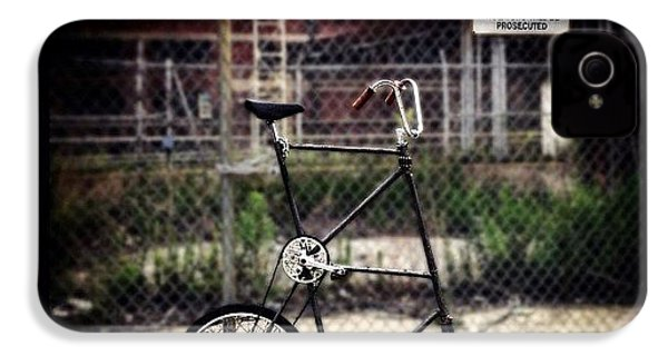Tall Bike IPhone 4s Case by Natasha Marco