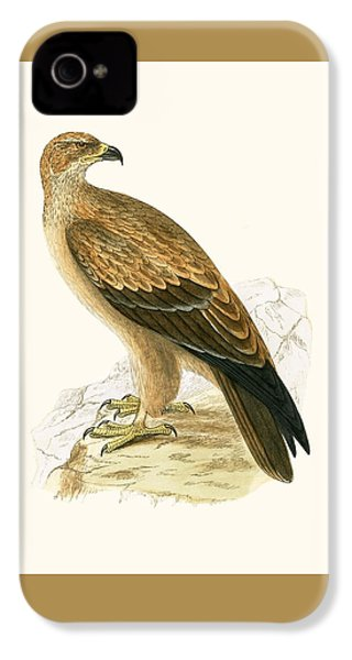 Tawny Eagle IPhone 4s Case by English School