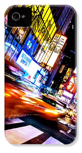 Taxi Square IPhone 4s Case by Az Jackson