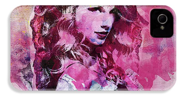 Taylor Swift - Oncore IPhone 4s Case by Sir Josef - Social Critic - ART