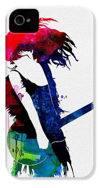 Taylor Watercolor IPhone 4s Case by Naxart Studio