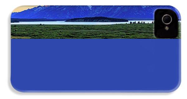 Teton Sunset IPhone 4s Case by David Chandler