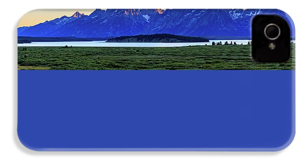 IPhone 4s Case featuring the photograph Teton Sunset by David Chandler
