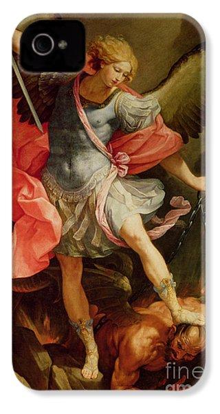 The Archangel Michael Defeating Satan IPhone 4s Case