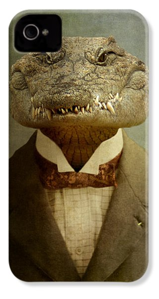 The Boss IPhone 4s Case by Martine Roch