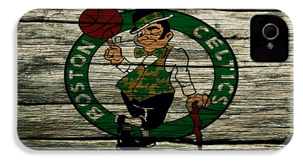 The Boston Celtics 2w IPhone 4s Case by Brian Reaves