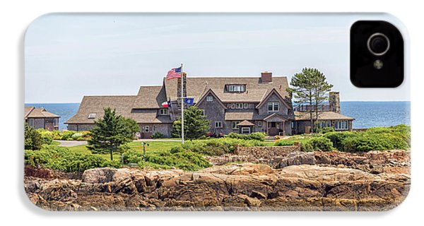 The Bush Family Compound On Walkers Point IPhone 4s Case by Brian MacLean