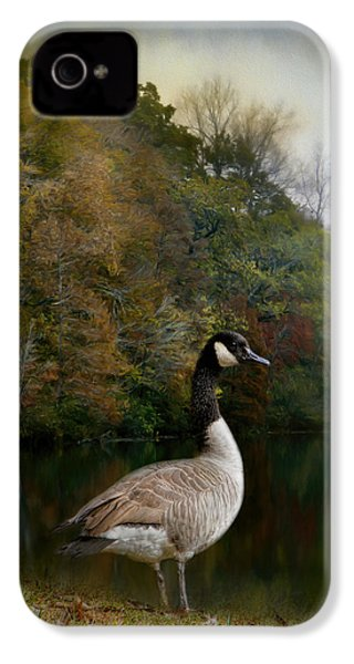 The Canadian Goose IPhone 4s Case by Jai Johnson