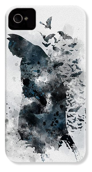 The Caped Crusader IPhone 4s Case by Rebecca Jenkins
