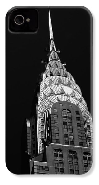 The Chrysler Building IPhone 4s Case by Vivienne Gucwa