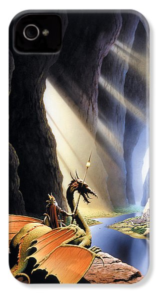 The Citadel IPhone 4s Case by The Dragon Chronicles - Steve Re