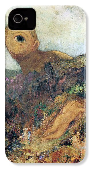 The Cyclops IPhone 4s Case by Odilon Redon
