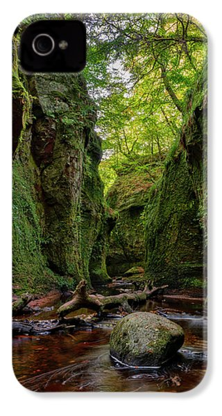 The Devil Pulpit At Finnich Glen IPhone 4s Case by Jeremy Lavender Photography