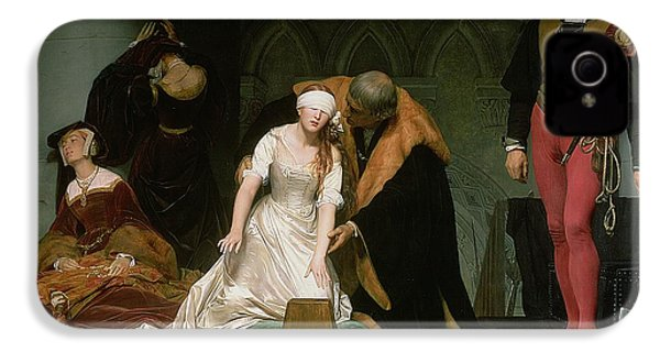 The Execution Of Lady Jane Grey IPhone 4s Case by Hippolyte Delaroche