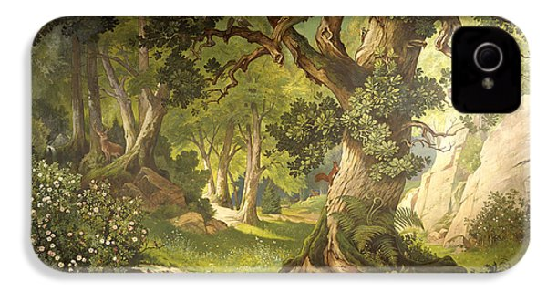 The Garden Of The Magician Klingsor, From The Parzival Cycle, Great Music Room IPhone 4s Case