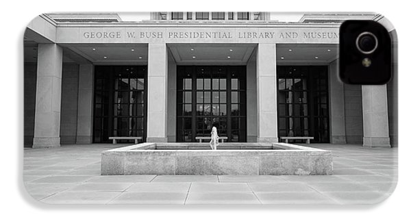 The George W. Bush Presidential Library And Museum  IPhone 4s Case by Robert Bellomy