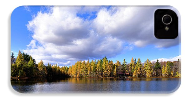 IPhone 4s Case featuring the photograph The Golden Forest At Woodcraft by David Patterson