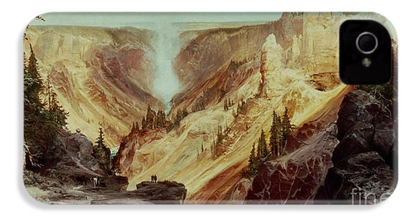 The Grand Canyon Of The Yellowstone IPhone 4s Case by Thomas Moran