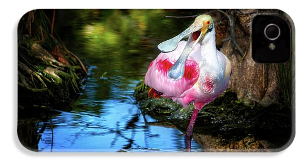 The Happy Spoonbill IPhone 4s Case