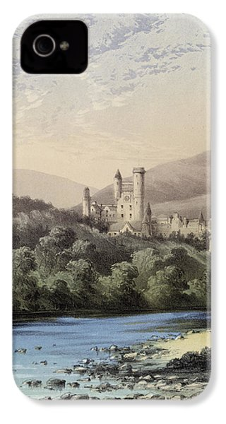 The Highland Home, Balmoral Castle IPhone 4s Case by English School