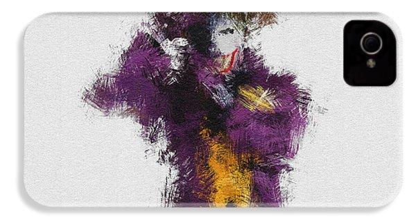 The Joker IPhone 4s Case by Miranda Sether