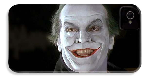 The Joker IPhone 4s Case by Paul Tagliamonte