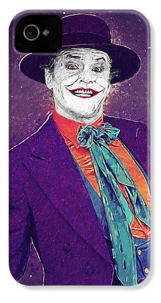 The Joker IPhone 4s Case by Taylan Apukovska