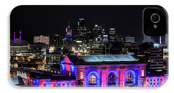 IPhone 4s Case featuring the photograph The Kansas City Skyline by JC Findley