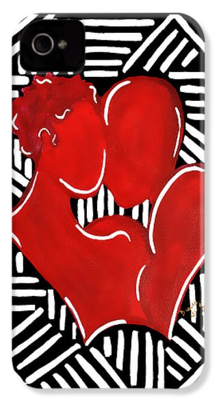 The Kiss IPhone 4s Case by Diamin Nicole