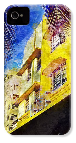 The Leslie Hotel South Beach IPhone 4s Case